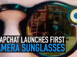 Snapchat launches first camera sunglasses