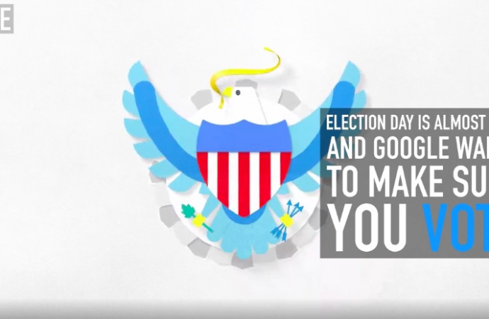 Election day is almost here and Google wants to make sure you vote