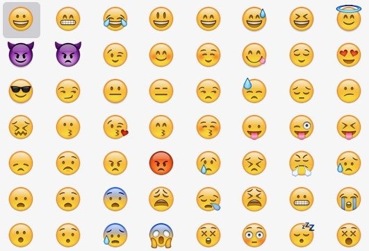Your silly emojis are going to court