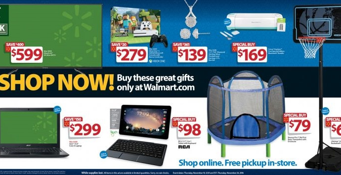 Walmart\'s best Black Friday tech deals