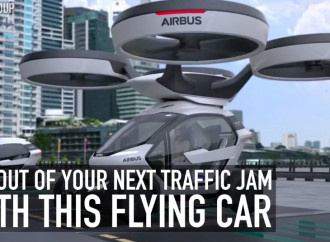 Get out of your next traffic jam with this flying car