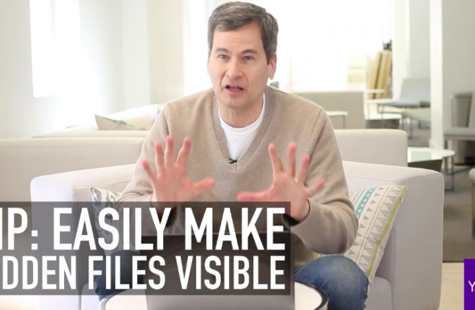 Pogue\'s Basics: The secret keystroke that shows the Mac\'s invisible files