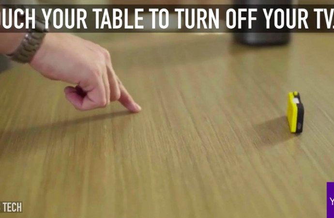 This gadget can turn an ordinary surface into a smart controller
