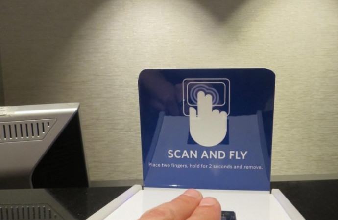 Your fingerprints could replace your airline boarding pass