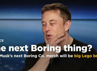 Elon Musk\'s next Boring Co. merch will be big Lego bricks made from tunnel rock