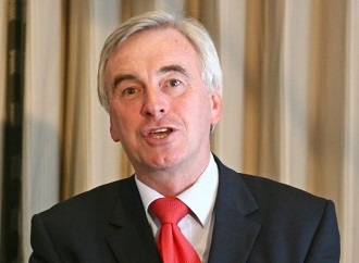 John McDonnell becomes chancellor in the new UK shadow cabinet