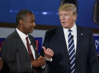 The debate between Donald Trump and Ben Carson went without affray