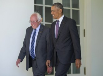 Bernie meets Obama, vows to help stop Trump