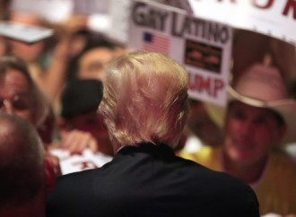 Trump thrilled by hair compliment at jubilant Texas rally