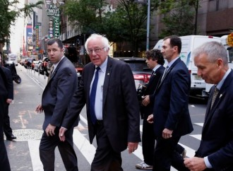 Slow Bern: Sanders isn't ready to let the Democratic primary end just yet