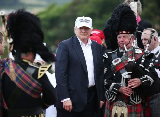 Trump, in Britain, sees U.K. vote as being a lot about … Trump
