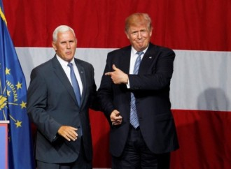 Indiana Gov. Pence tries out for Trump vice president as speculation swirls