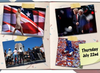 The Unconventional Diaries: Trump dazzles the GOP faithful, capping off a turbulent convention