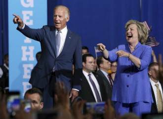 Biden joins Clinton on the trail as Trump struggles mount