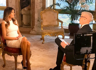 Melania Trump tells Anderson Cooper 2005 tape was 'boy talk'; echoes 'rigged' election claim