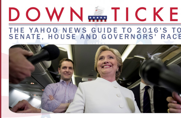 Down Ticket #22: Confident of a White House win, Clinton & Co. push to expand the down-ballot map