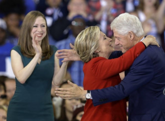 Clinton and Trump rally after midnight, capping off a grueling campaign