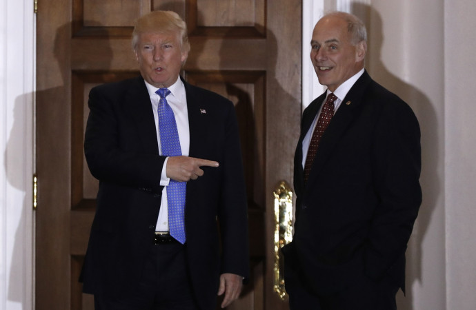 Trump's DHS pick Gen. Kelly was not first choice of immigration hard-liners