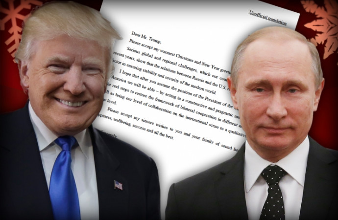 Amid 'arms race' kerfuffle, Trump releases friendly Putin letter