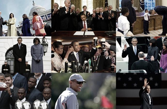 Barack Obama: A presidency in pictures