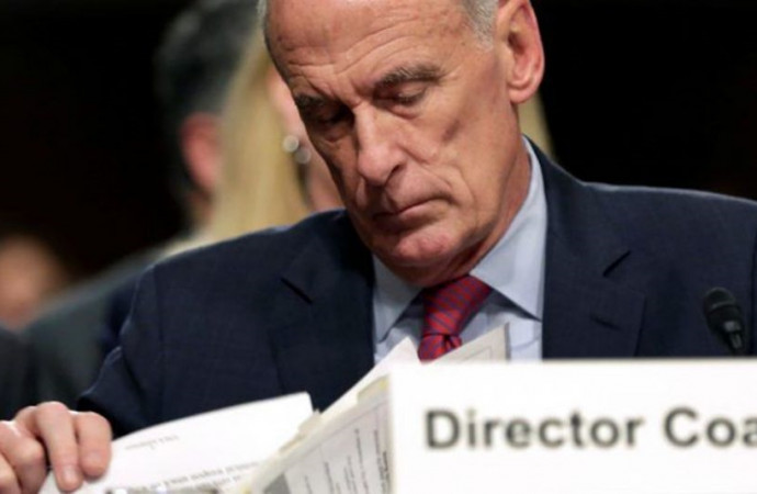 U.S. intelligence chief Coats sidesteps questions on Trump, Russians and Israel
