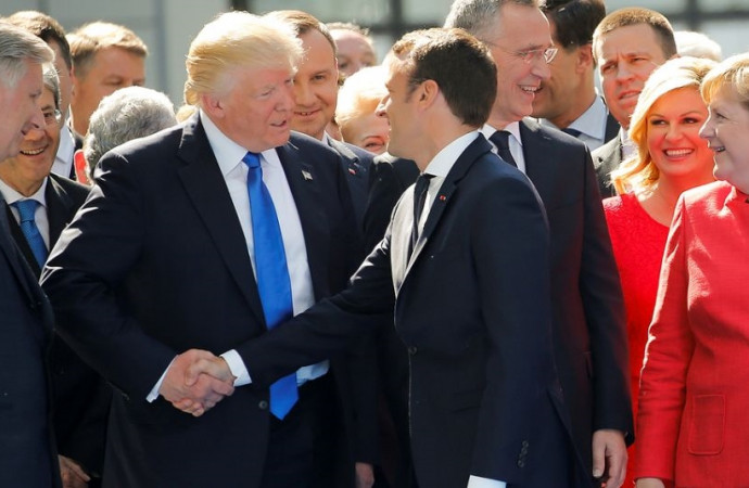 European allies see the two sides of Trump