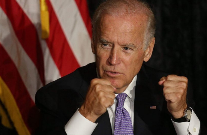 Biden, forming a PAC, is gone but not … actually, he's not even gone