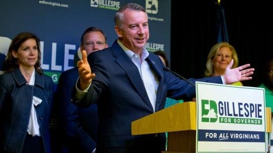 Defend Trump? 'Not my job,' says GOP's Gillespie in Virginia race
