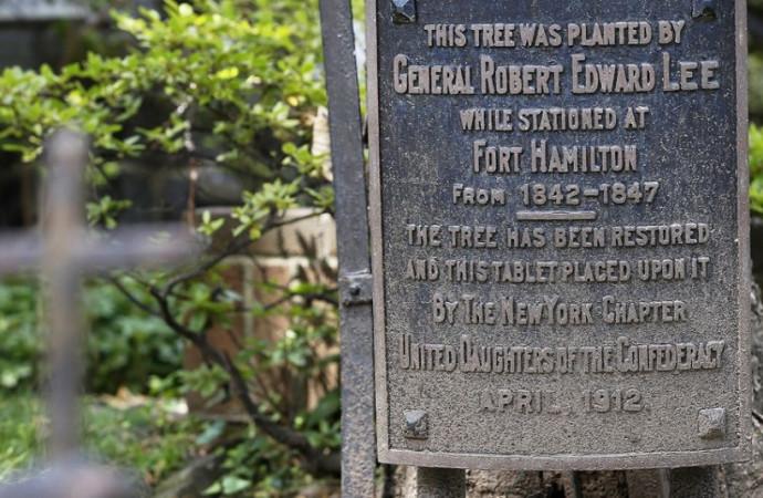 Confederate street names stir debate in … New York City?