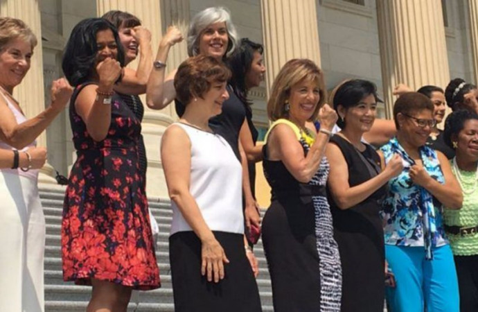 Congresswomen Hold 'Sleeveless Friday' in a Show of Their Right to Bare Arms