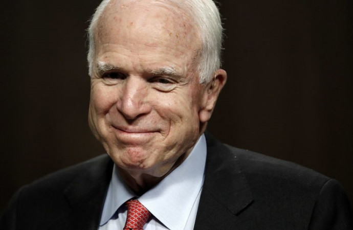 'Give it hell, John': Family, colleagues and former foes wish McCain well