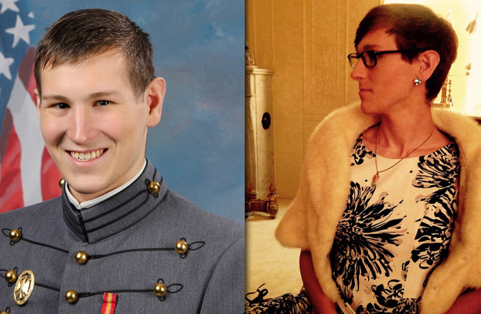 With military ban looming, first openly transgender West Point graduate looks for other work