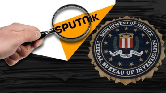 Sputnik, the Russian news agency, is under investigation by the FBI
