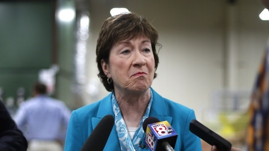 Collins' opposition all but kills GOP health care drive