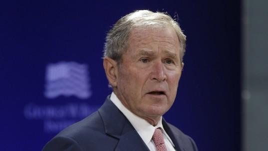 George W. Bush: 'Bigotry seems emboldened' in Trump era