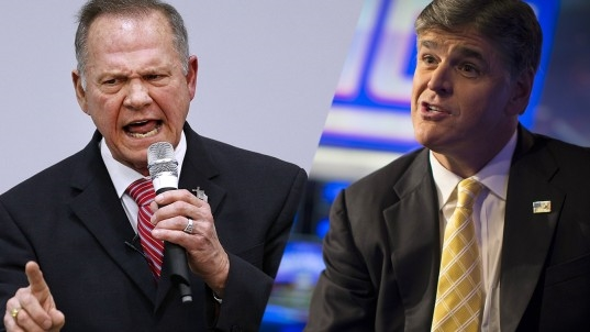 Fox News' Hannity decides not to pass judgment on Roy Moore