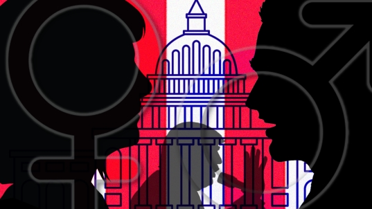 On gender, candidates in the Trump era negotiate a changed landscape