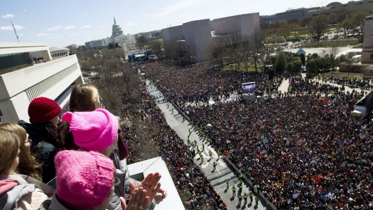 Live: March for Our Lives demonstrations in Washington, D.C., and around the world