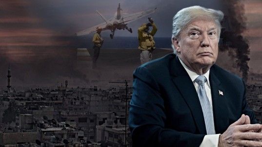 Trump backs off tweet warning Russia of 'coming' Syria strike