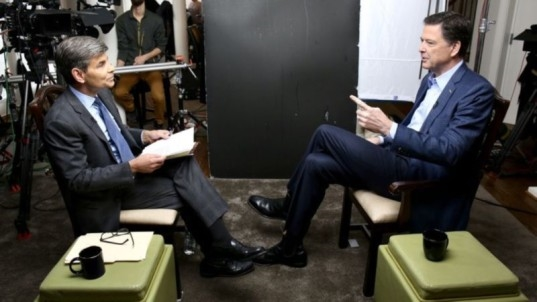 In Searing Interview, James Comey Unleashes Against 'Morally Unfit' Trump