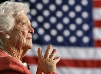 Barbara Bush, the 'enforcer' of a political dynasty, is dead