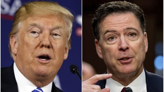 In Comey memos, Trump talks of jailed journalists, 'hookers'