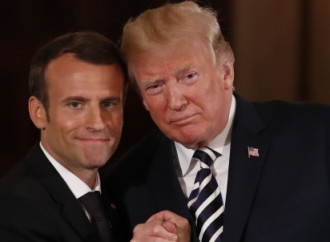 Trump, Macron call for new nuclear deal with Iran