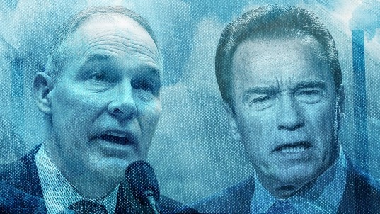 Schwarzenegger: 'Scott Pruitt is stuck in the polluting past' on car emission standards